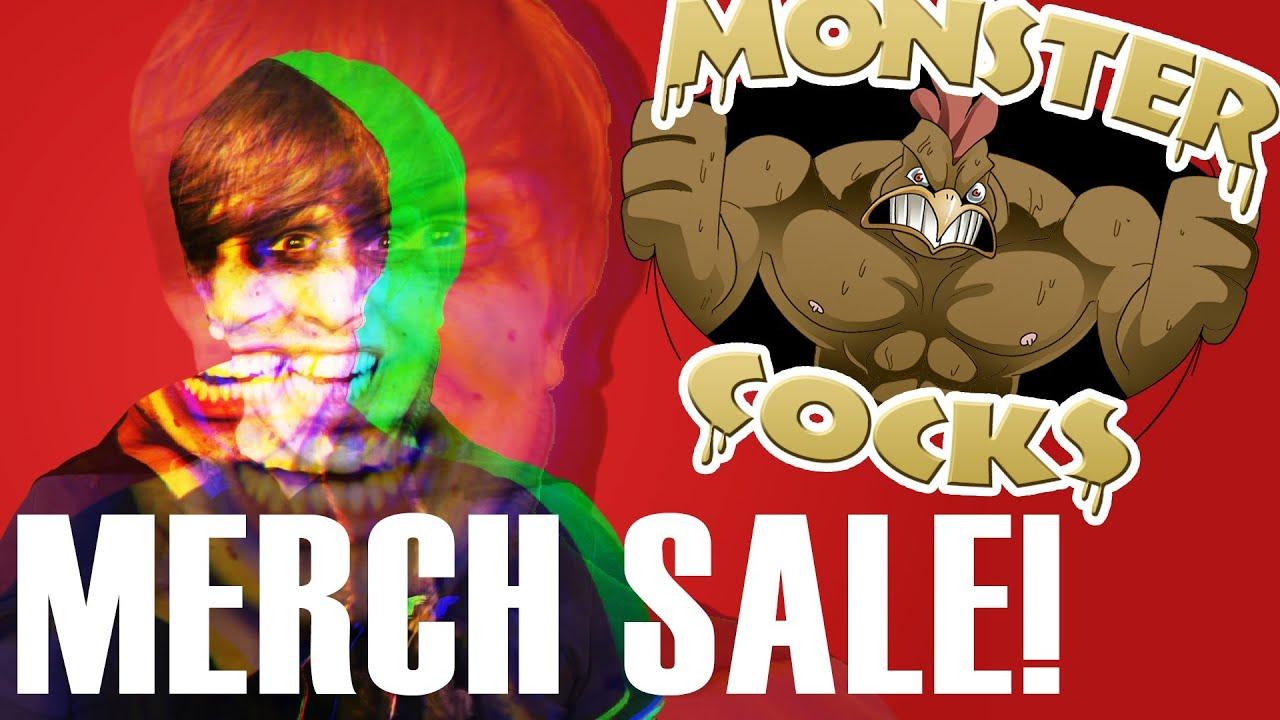 MONSTER COCKS MERCH MANIA! - YouTube