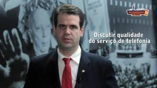Deputado Aureo afirma que a telefonia e internet no Brasil são caras e de baixa qualidade