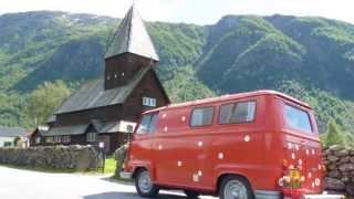 Renault Estafette visits Norway