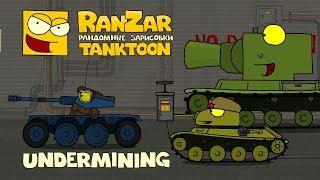 Tanktoon - Podmínovanie