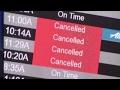 Northeast storm cancels, delays flights nationwide