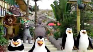 Universal Studios Singapore Madagascar Dance