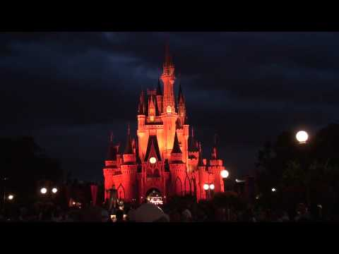 SONY HDR-XR520V Low Light Test Magic Kingdom HD