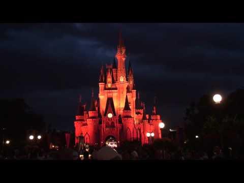 SONY HDR-XR520V Low Light Test Magic Kingdom HD