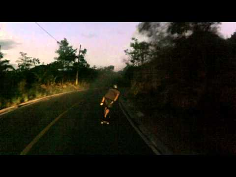 Duas bocas Downhill Speed Night raw run Luis Souza cam Weyder Nascimento
