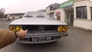 Au volant de la Lancia Beta Coupé 1977