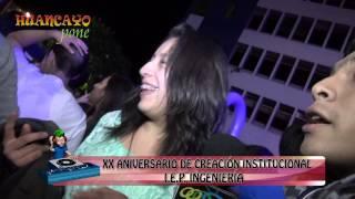 Huancayo Pone Aniversario Colegio Ingenieria 2013