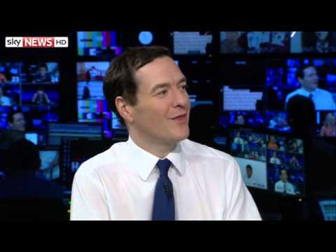George Osborne Avoids Test On His Times-Tables