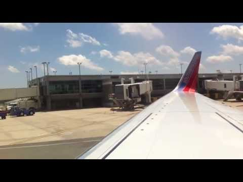 Southwest Airlines Pushback and Funny Safety Demo: Providence