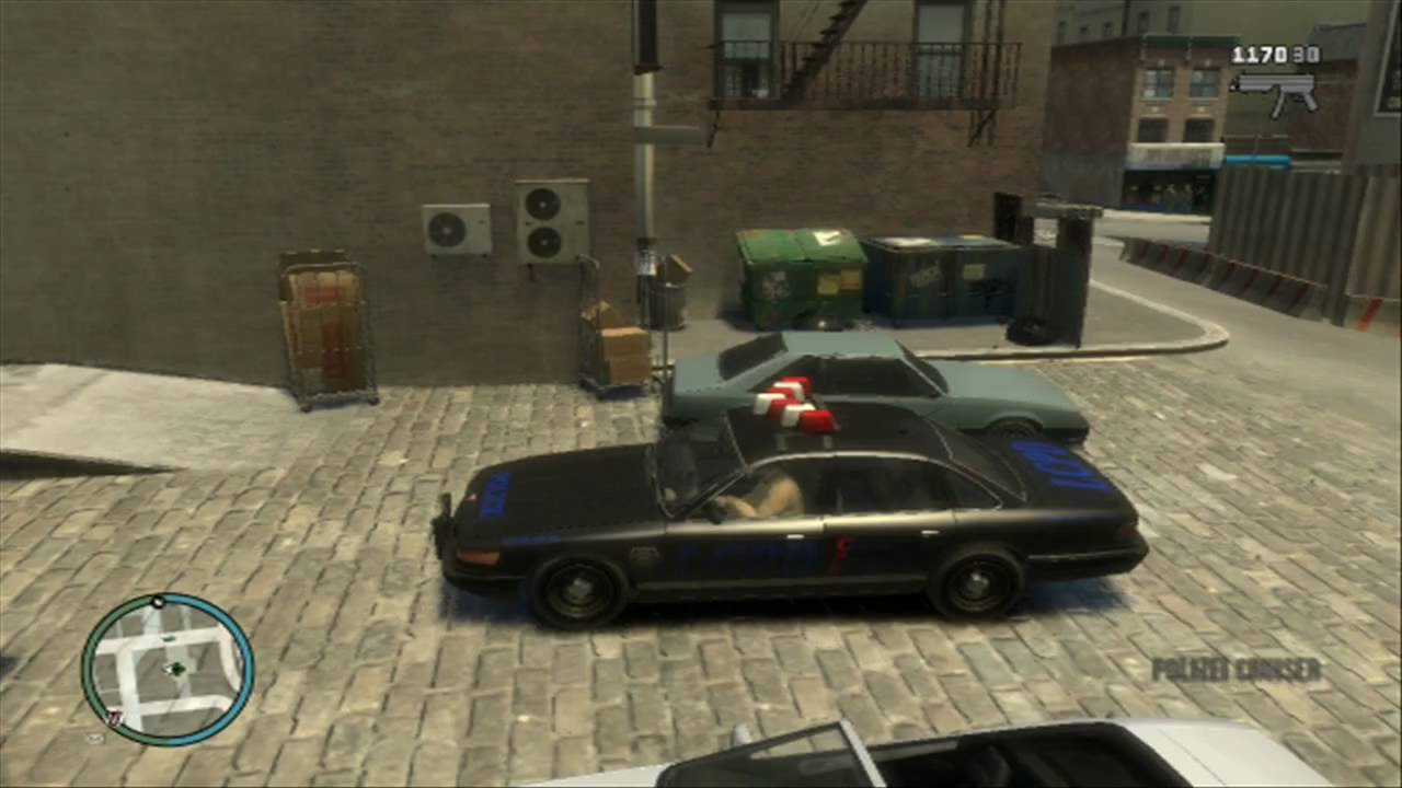 gta iv secret police car youtube