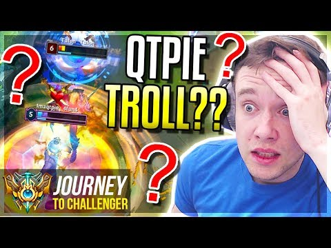 IS IMAQTPIE TROLLING IN MY GAMES?????? - Journey To Challenger | League of Legends