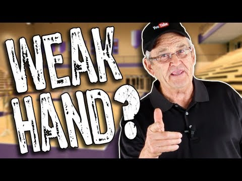 HOW TO IMPROVE YOUR WEAK HAND DRIBBLING!! How to Dribble a Basketball -- Shot Science