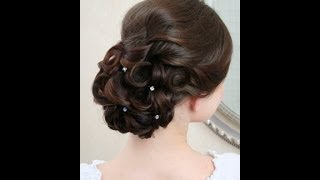 Wedding hairstyles video tutorial