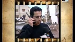 لحظة هروب مراسل القناة الثانية صلاح الدين الغماري من زلزال بالحسيمة