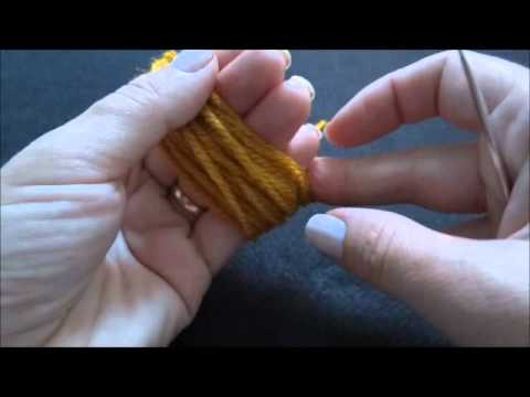 Como fazer Pom Pom com os Dedos