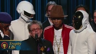 "Daft Punk & Pharrell & Stevie Wonder Performing ""Get Lucky"