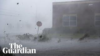 Hurricane Michael pounds Florida