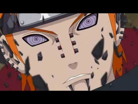 Naruto vs Pain amv - Somewhere I Belong
