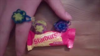 How To Make A Starburst Rubber Band Ring With A Rainbow