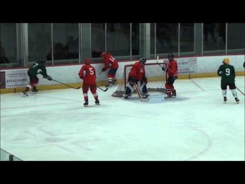 WK 3 - Green Hornets vs Red Army - 5-5-13 ISF Over 50 Hockey Season 6