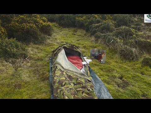 Dutch army hopped bivi wild camping scotland uk stealth camping spam dance