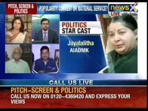 Speak out India : Do film stars and sports icons make good politicians ? - NewsX