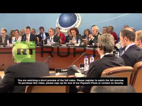 Belgium: Russia and NATO meet to discuss Syria