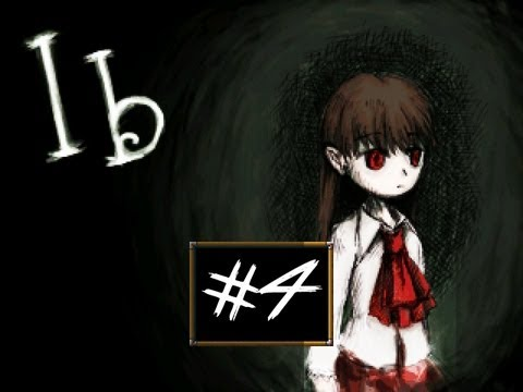 Ib - Part 4 | MARY'S TERRIBLE SECRET| RPG Maker Horror Game | Gameplay/Commentary/Face cam reaction