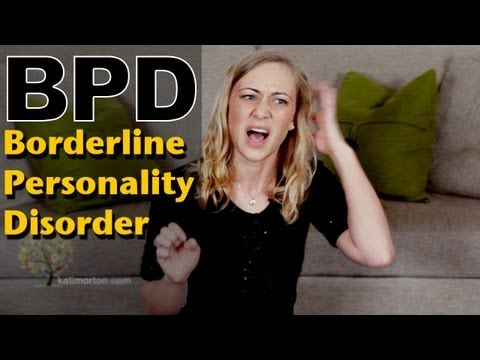 Borderline Personality Disorder - mental health Kati Morton Self-Harm, Eating Disorder & BPD