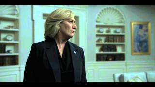 President Underwood Threatens Secretary Durant In The Oval - Hoc