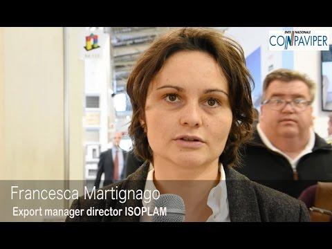 BAU 2017: Francesca Martignago di ISOPLAM