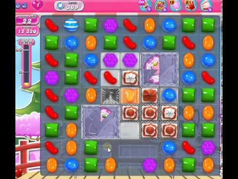 How to beat Candy Crush Saga Level 369 - 3 Stars - No Boosters - 197