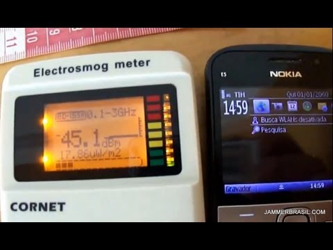 Cornet electrosmog meter