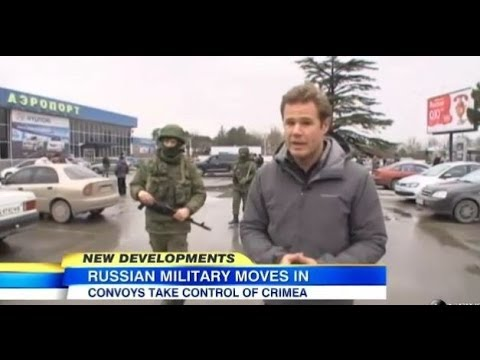 Russian Troops Take Over Ukraine's Crimea Region