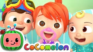 Laughing Baby with Family | Nursery Rhymes & Kids Songs - ABCkidTV