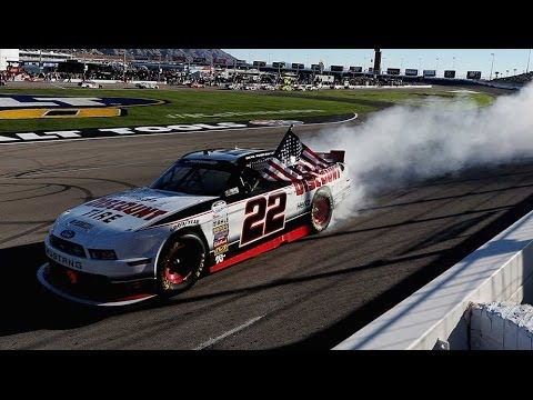 Finish @ 2014 Boyd Gaming 300