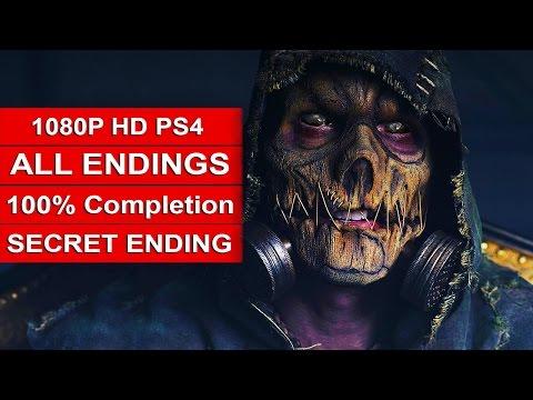 Batman Arkham Knight ALL ENDINGS - 100% Secret Completion Batman Arkham Knight Ending