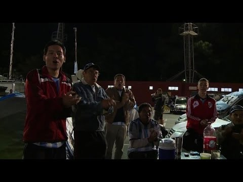 World Cup: Argentina fans camp out in Sao Paulo