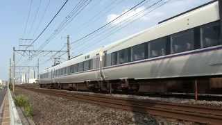 JR西日本683系2000番台 しらさぎ 富山行き 西岐阜駅付近