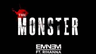 Eminem - The Monster ft  Rihanna (Clean)