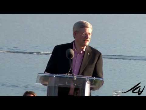 Prime Minister Stephen Harper -  Conservative BBQ Kelowna September 13, 2013 -  YouTube