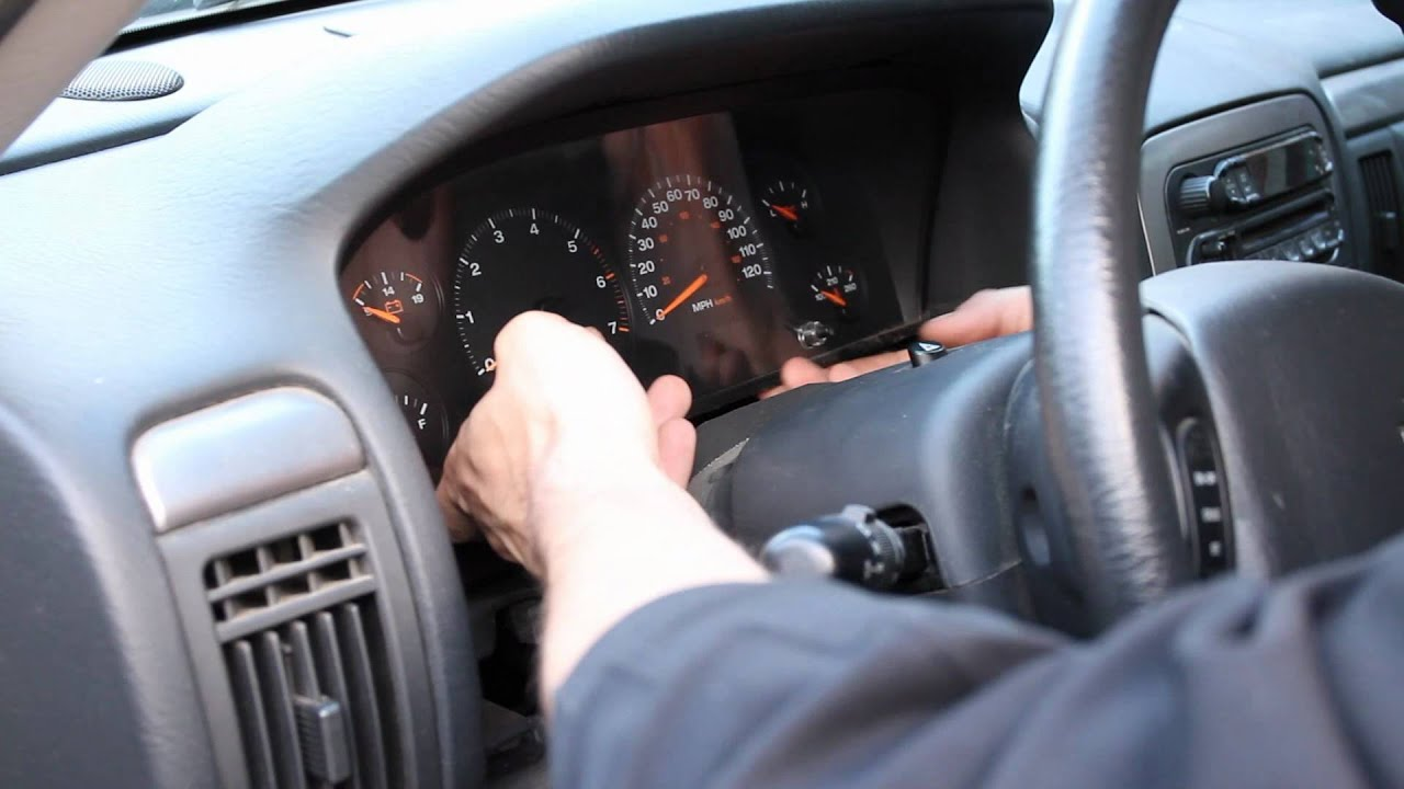 How To  Change Instrument Cluster Lights