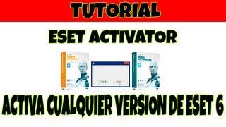 Como Activar El ESET Smart Security 6 (activador Eset