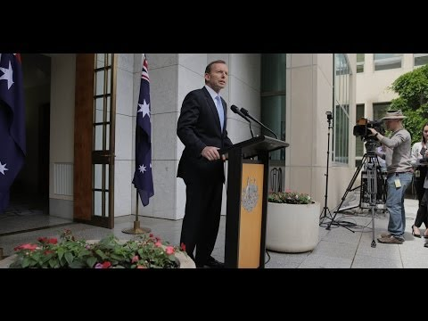 The Hon Tony Abbott MP Press Conference opening remarks 12/11/2013
