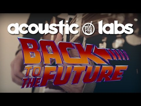 Back to the Future - Alan Silvestri - On Acoustic Guitar - Alvarez Guitars