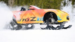 Nissan 370Zki – Ready to Attack the Ski Slopes. YouCar Car Reviews.