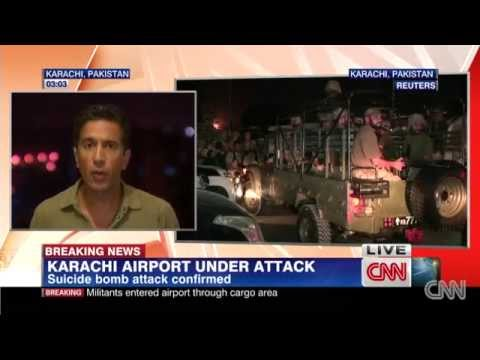 Militants attack Karachi airport; 21 killed in clashes