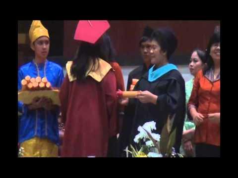 Upacara Penamatan SMA Perguruan Advent 1 Jakarta.