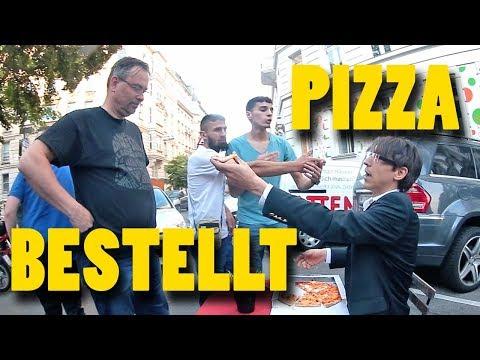 Pizza Bestellung für Dr. Stör