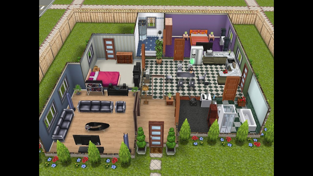 Sims FreePlay Mansion